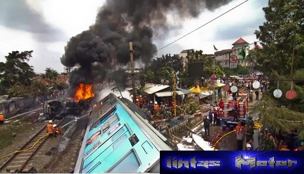 Tragedi Berdarah Bintaro Kereta Api VS Truk Tangki Pertamina