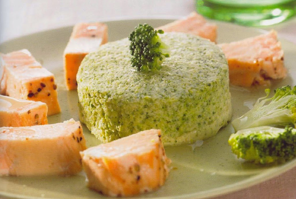 Pudins de brócolos