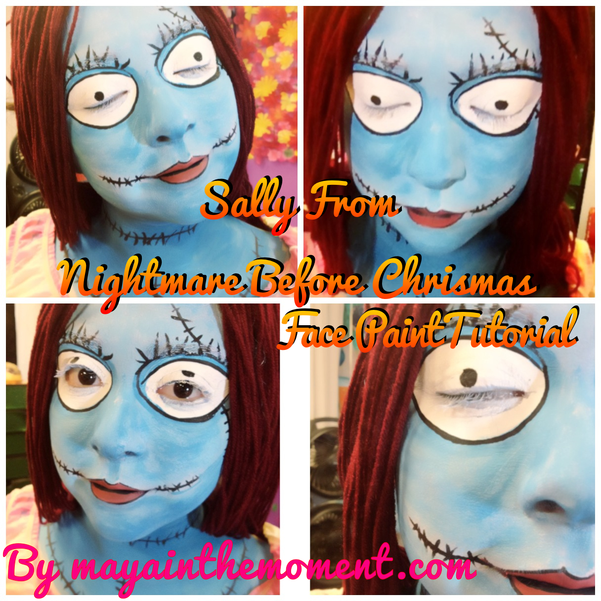 iLoveToCreate Blog: MAYA IN THE MOMENT: Sally (Nightmare Before ...