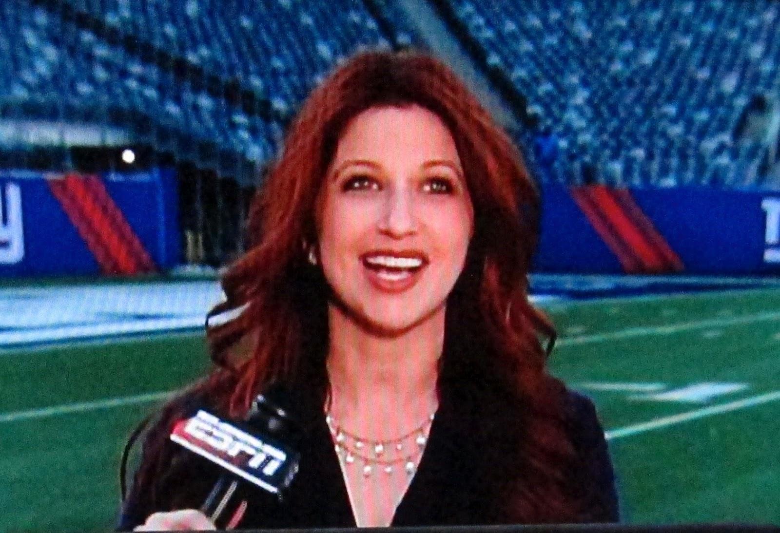 Rachel Nichols ESPN Photos: Rachel Nichols of ESPN talking NFL