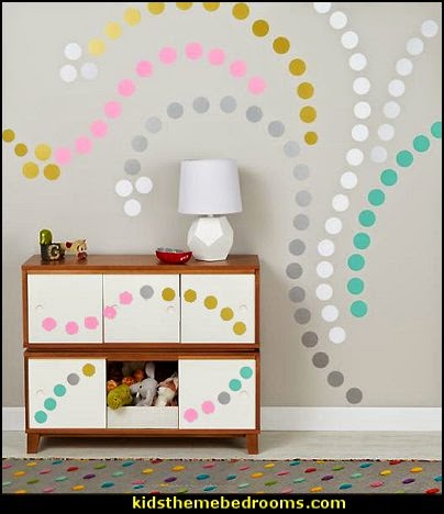 Decorating theme bedrooms - Maries Manor: polka dot bedroom ...