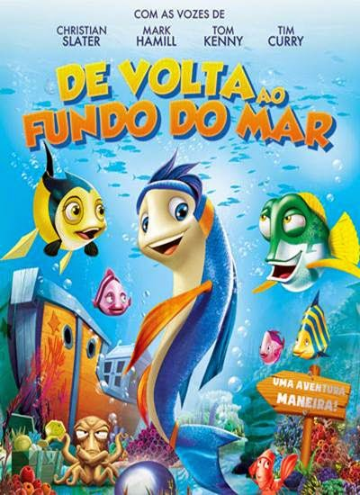 Download De Volta ao Fundo do Mar AVI Dual Áudio + RMVB Dublado DVDRip Torrent