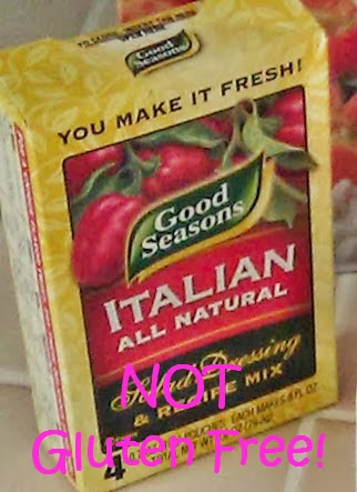 Lazy Gluten Free: Homemade Italian Dressing Mix