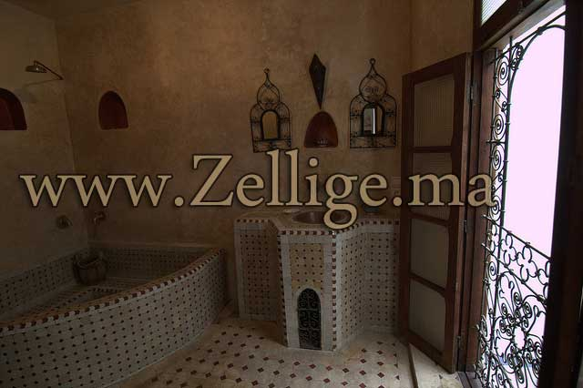 Salle De Bain Decoration Marocaine : Hammam marocain