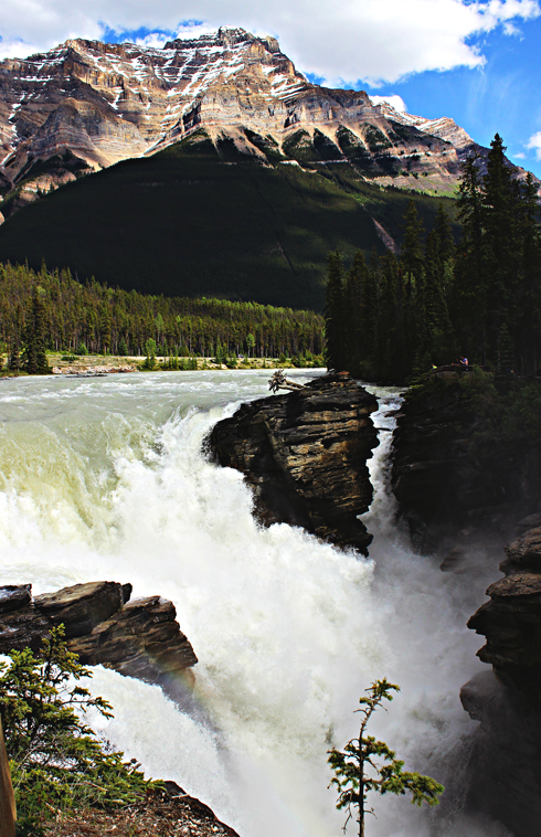 athabasca falls jasper alberta travel photography series