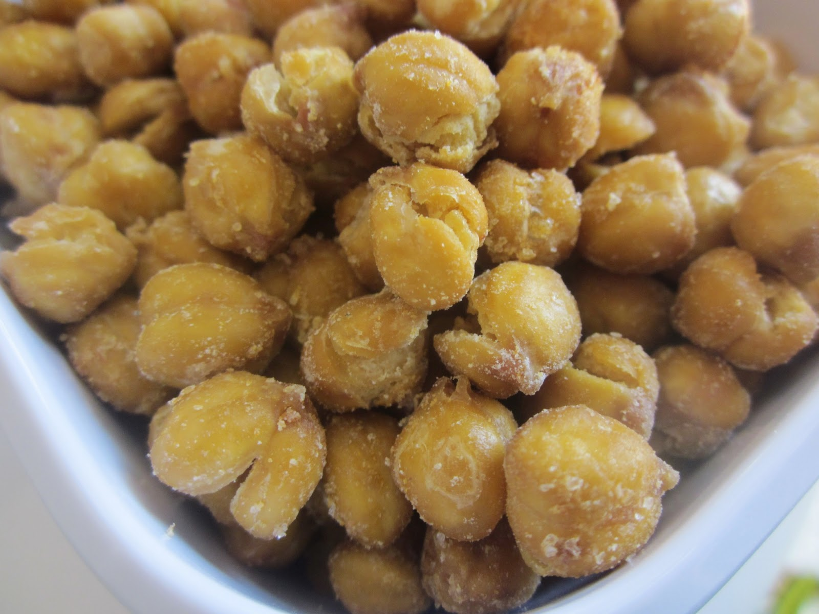 Chef tess bakeresse healthy chick nuts homemade chickpea for How to make homemade healthy snacks