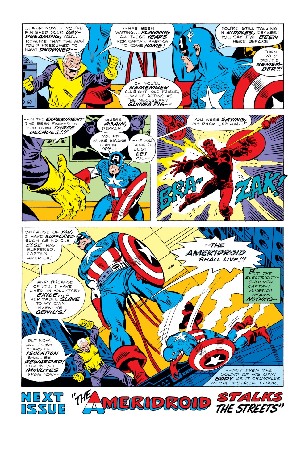 Captain America (1968) Issue #219 #133 - English 18