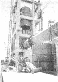 Construcción industrial.