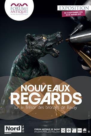 Exposition: Nouveaux regards sur le Trésor des bronzes de Bavay