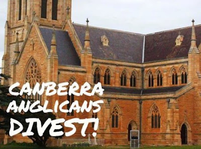 Canberra Anglican church divest from fossil fuels