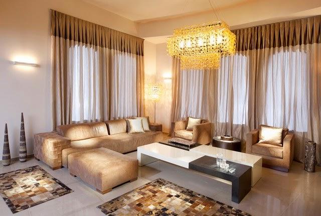 Rideau salon rideaux et voilages for Idee deco rideau salon
