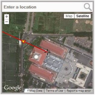 masjid agung semarang dari google maps