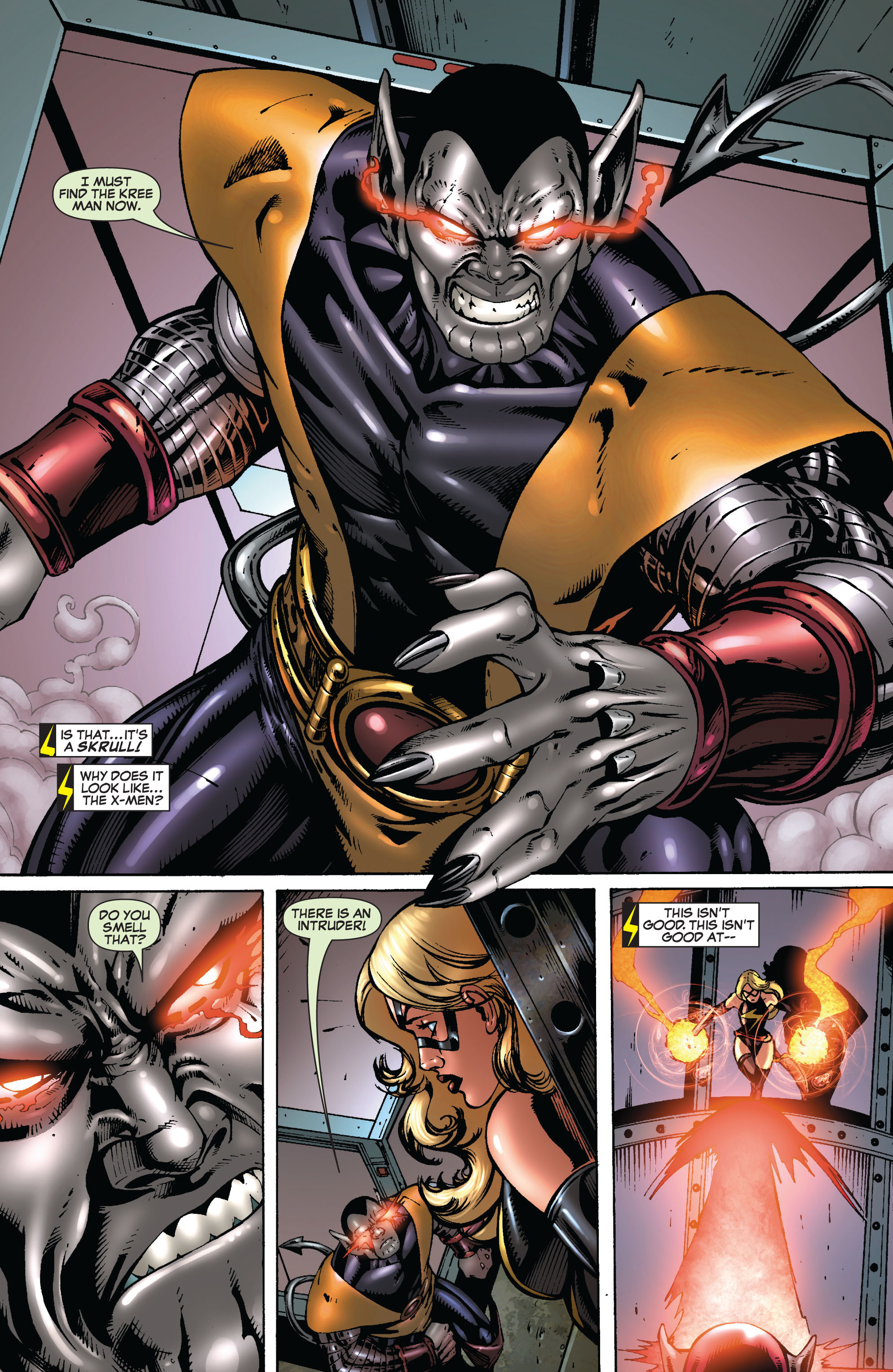Read online Secret Invasion: The Infiltration comic -  Issue #8 - 24