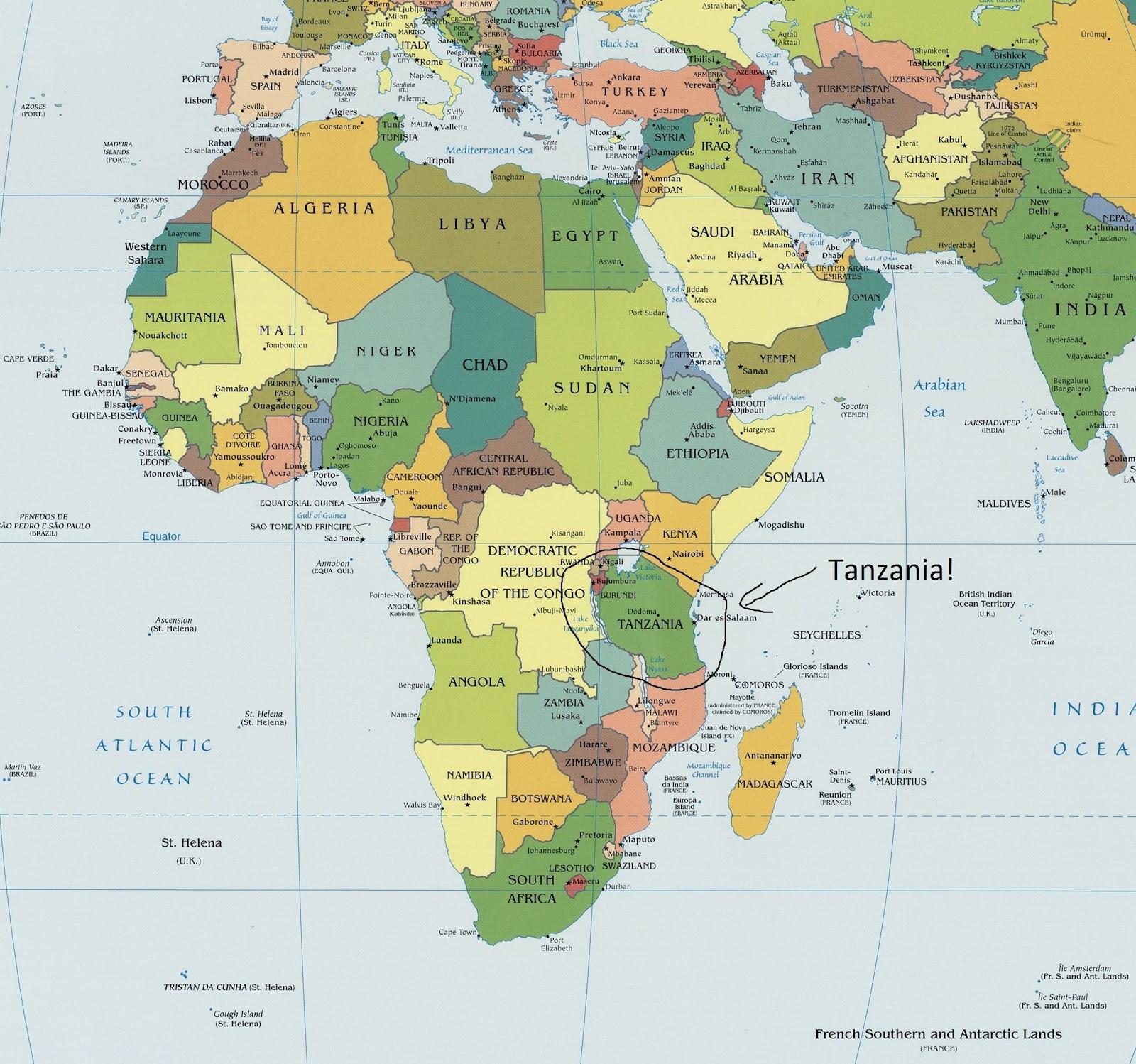 Tanzania Vacaciones y Tanzania Safaris con Tanzania Odyssey
