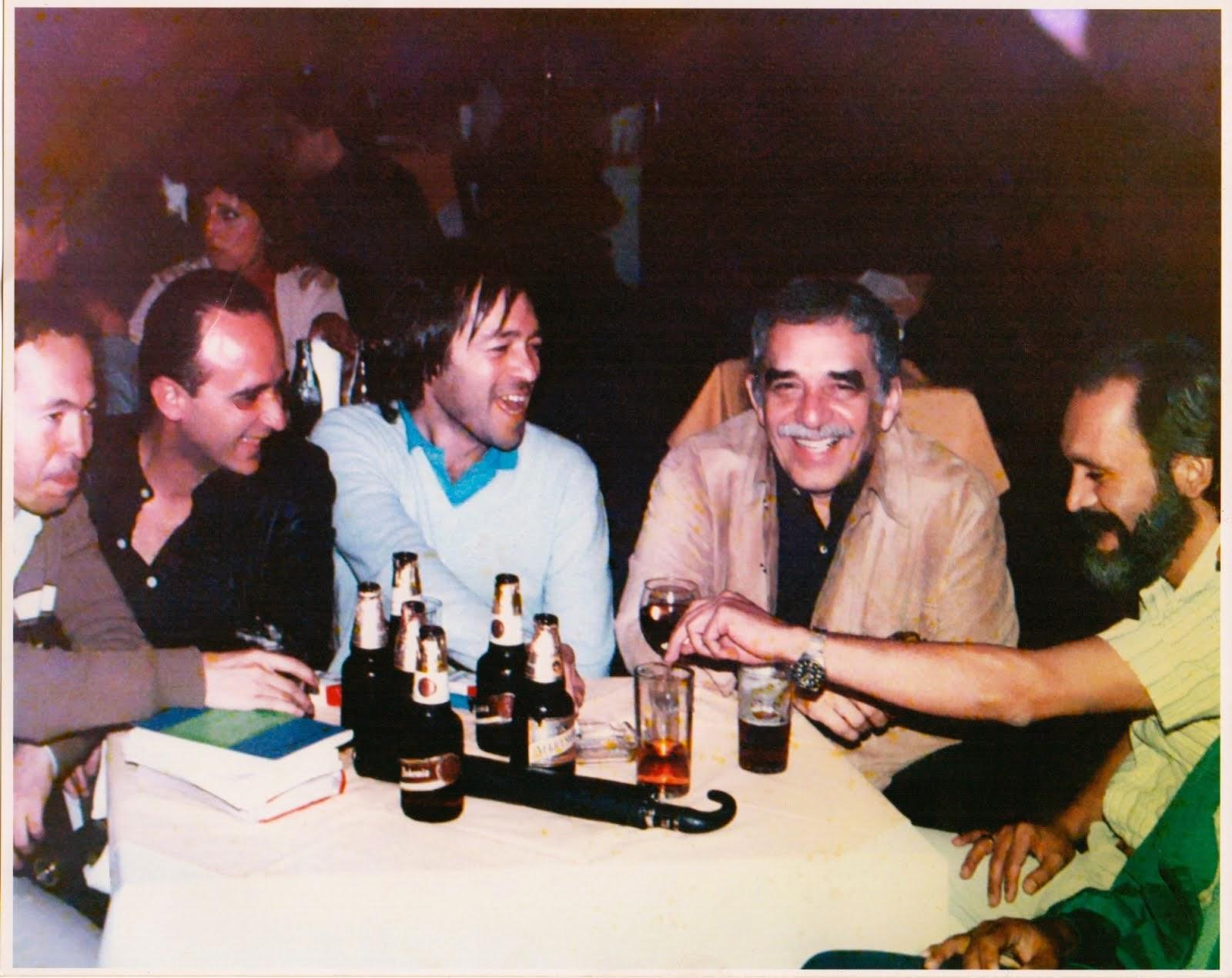 Con García Márquez y amigos en México