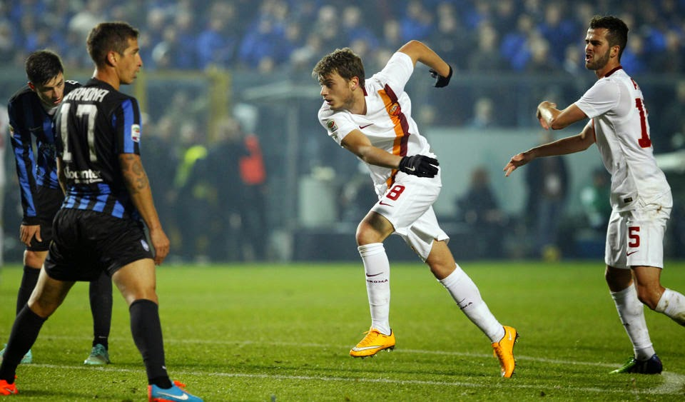 [Serie A] VIDEO Atalanta Roma 1-2 Gol Highlights