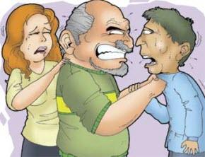 berkelahi di depan pacar