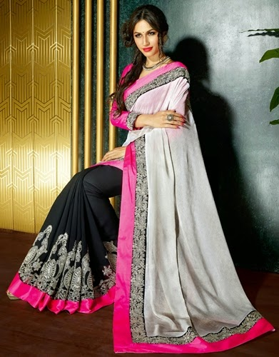 Indian Banarasi Sari Fashion