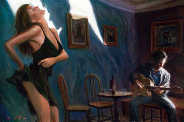 Mark Keller   American Figurative painter