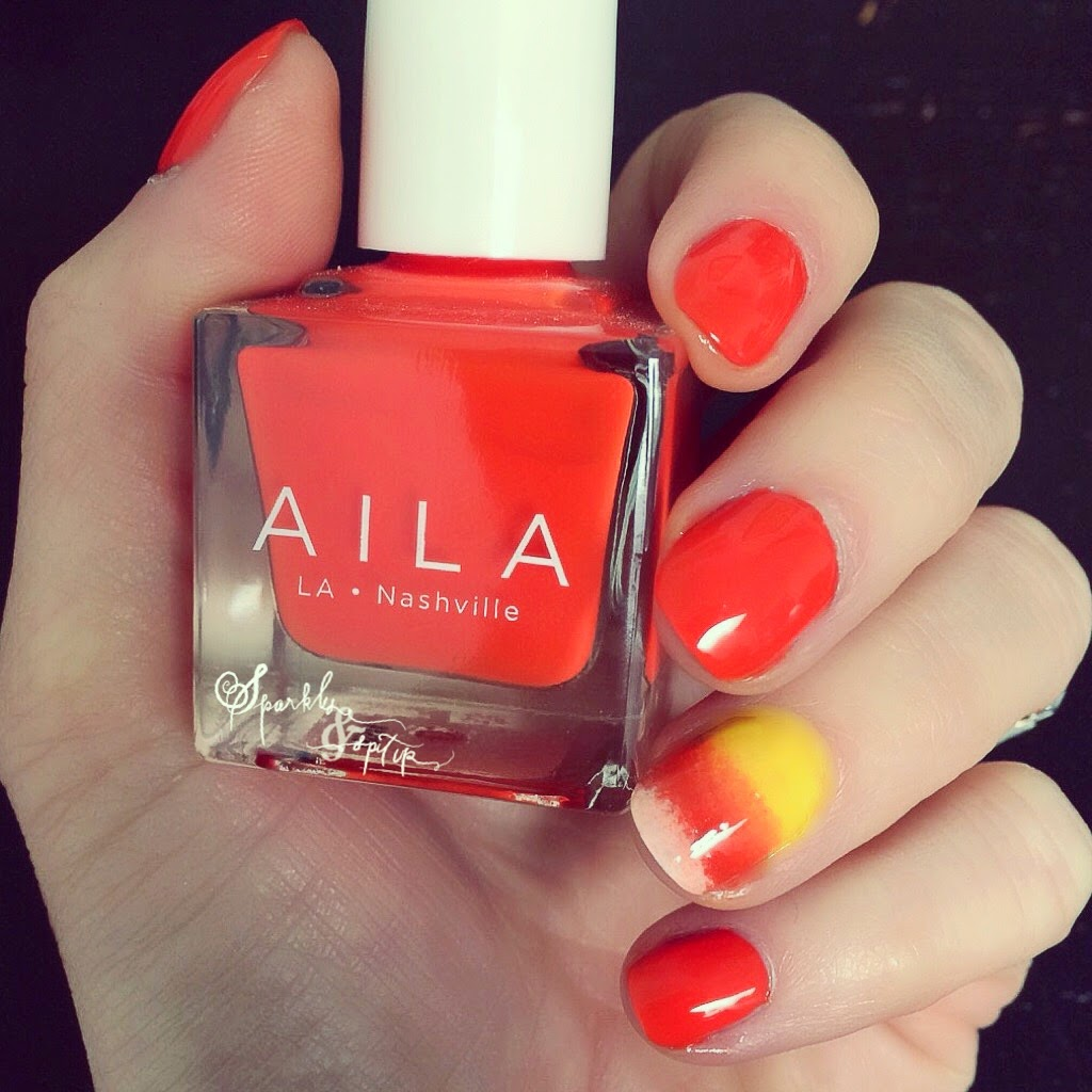 Sparkles & Spit Up: AILA: A Nail Polish To Feel Good About