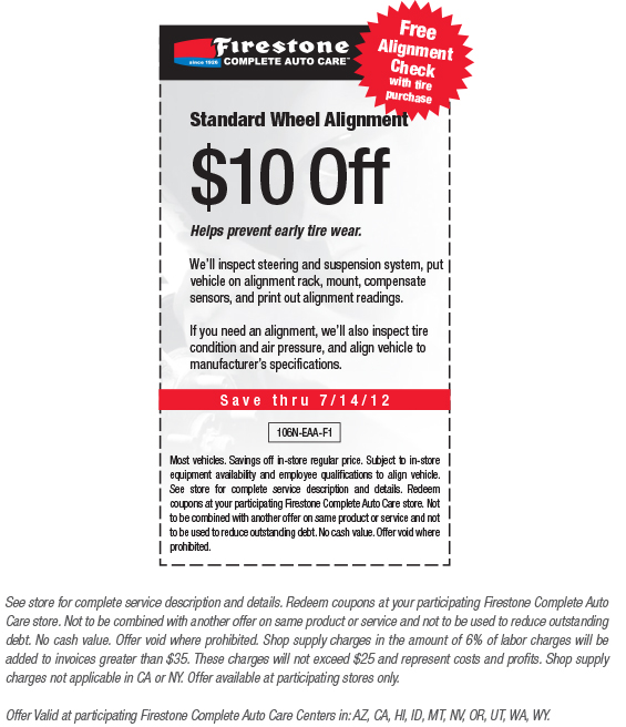 Discount tire coupons for alignment