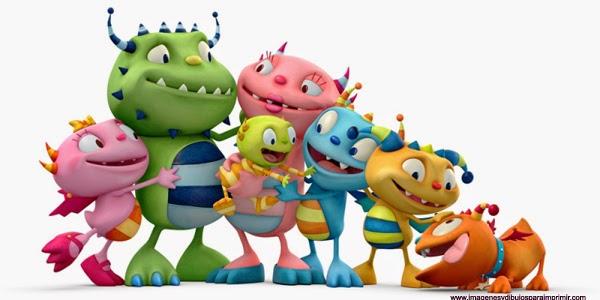 Bebs familia y dibujos animados