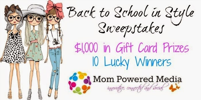 Back to School in Style Sweepstakes