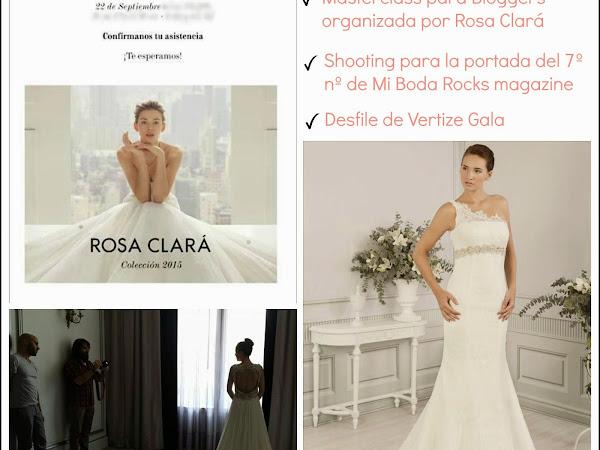 Masterclass, Shooting y Desfile de Vestidos de novia