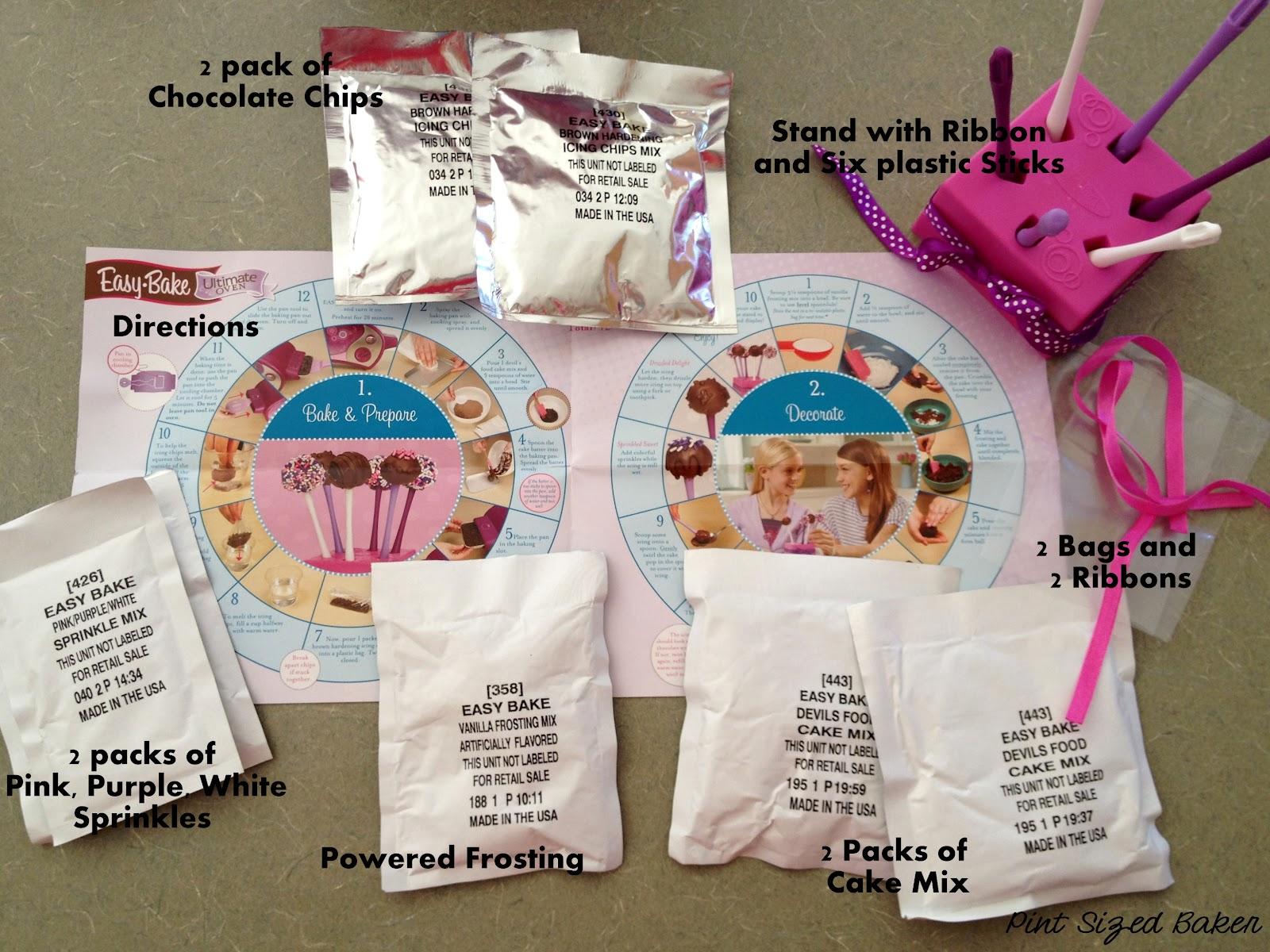 Easy Bake Cake Pop Kit