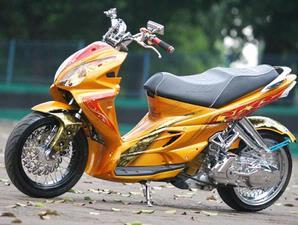modif motor yamaha 2011: SUZUKI SKYWAVE MODIFIKASI
