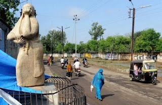 Monumento a las victimas de Bhopal