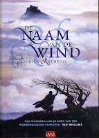 de naam van de wind Patrick Rothfuss cover