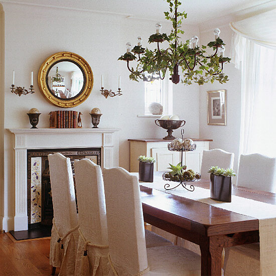 New Home Interior Design Traditional Dining Room
