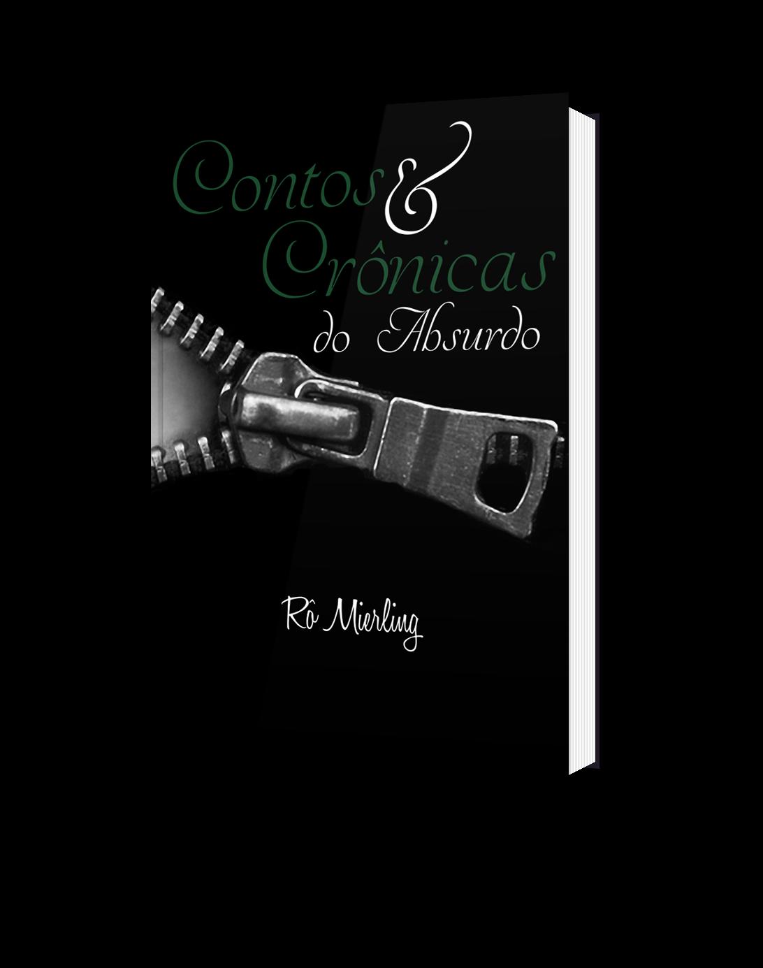 livro, CONTOS E CRÔNICAS DO ABSURDO