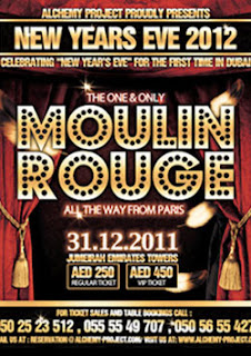 MOULIN ROUGE New year Party Dubai
