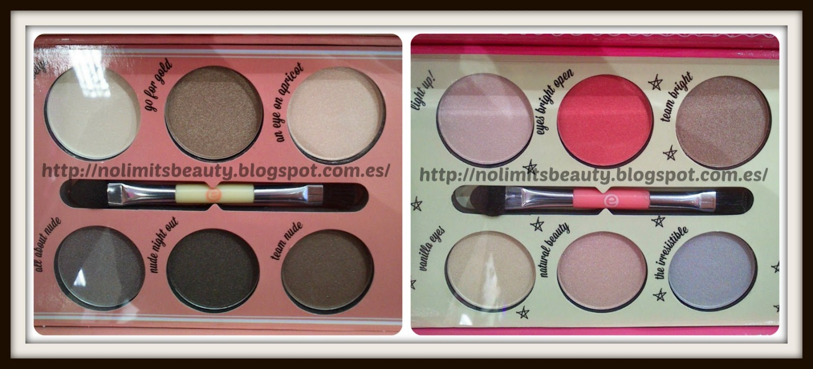 Novedades Essence - Make Up Boxes: How to make Nude Eyes & How to make Bright Eyes