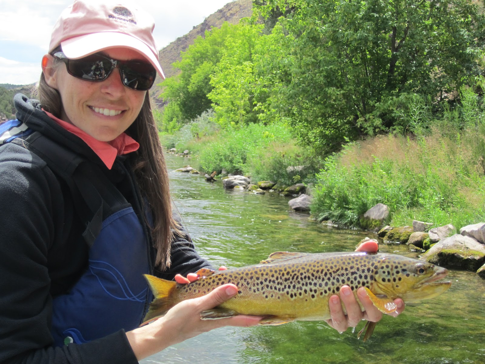 Jay scott outdoors green river flyfishing report for Green river fly fishing report