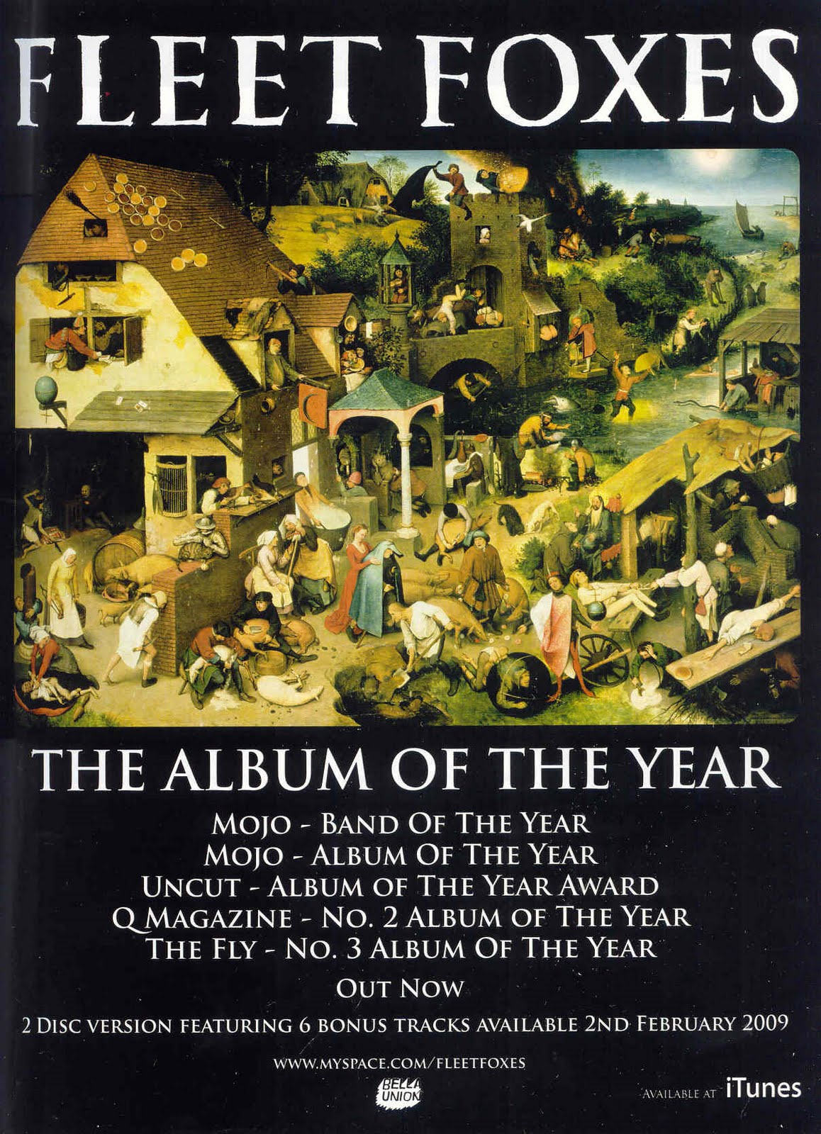 a advanced portfolio media studies ancillary texts examples of this magazine advert by fleet foxes does feature the front cover of he album but only the image the fact that the advert also highlights the number of