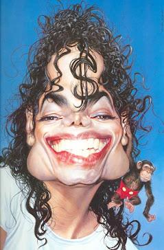 michael jackson caricature