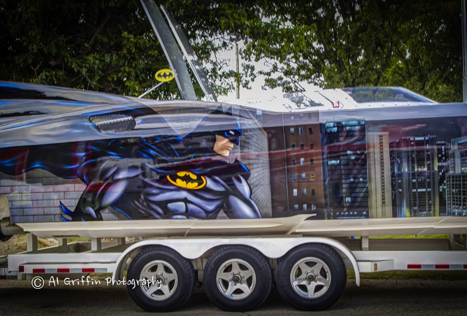 Shown below is the Batboat, owned and driven by Eliot and Chris Gray