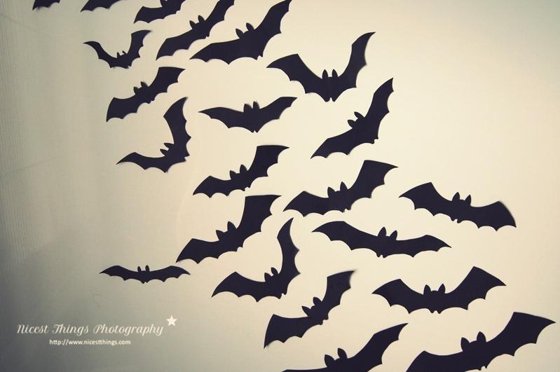 Halloween Deko Ideen Diy Leuchtende Geister Und Fledermaus Zweige Nicest Things