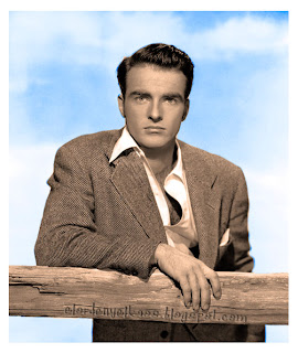 Montgomery Clift. color