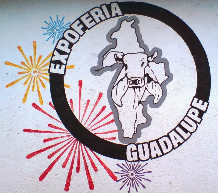 logo expo feria guadalupe