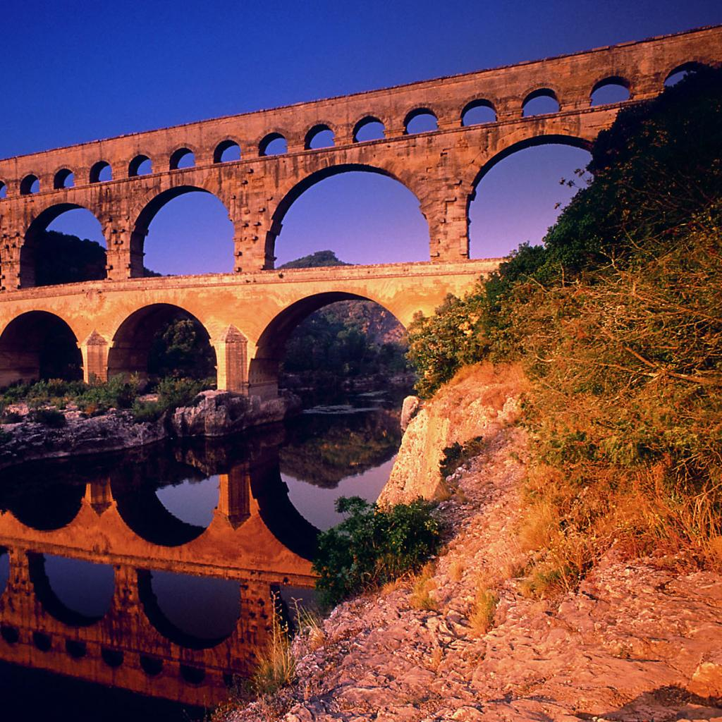 Beautiful Bridges Pont Du Gard Wallpapers