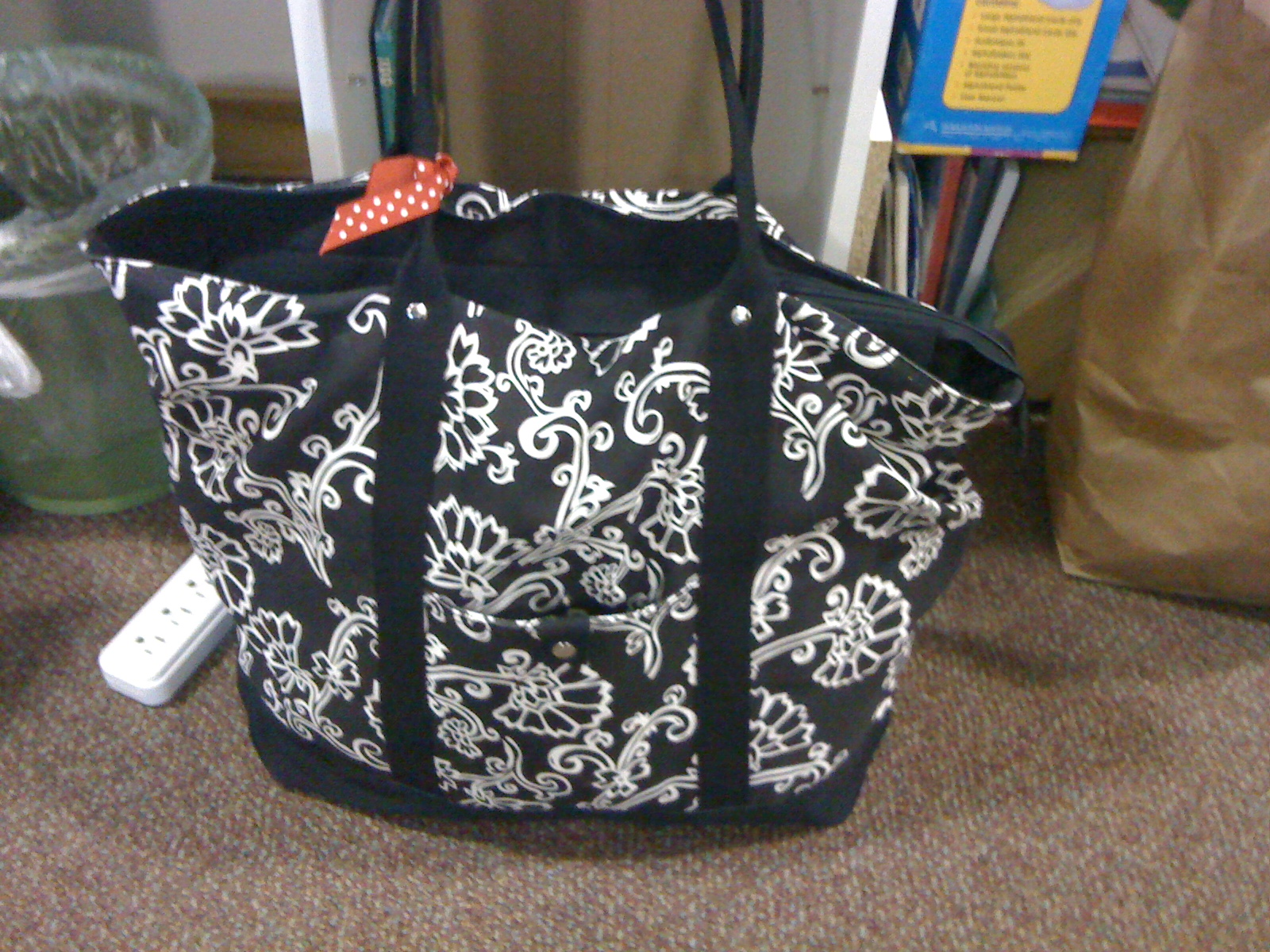 Ms.M's Blog: Organization Project Wk 7: The Teacher Bag