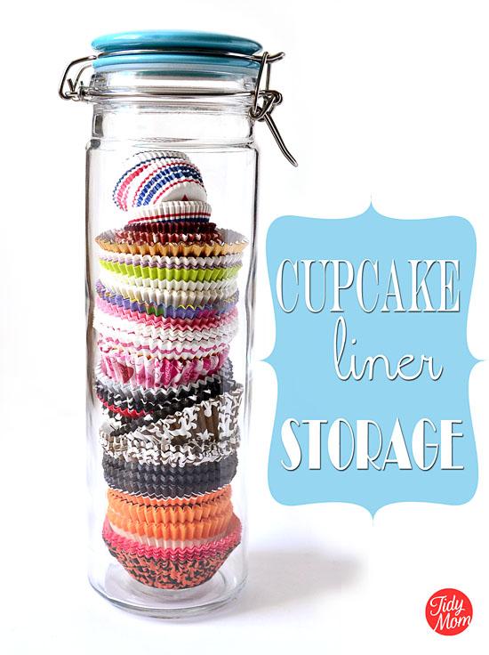 http://tidymom.net/2012/im-lovin-it-cupcake-liner-storage/
