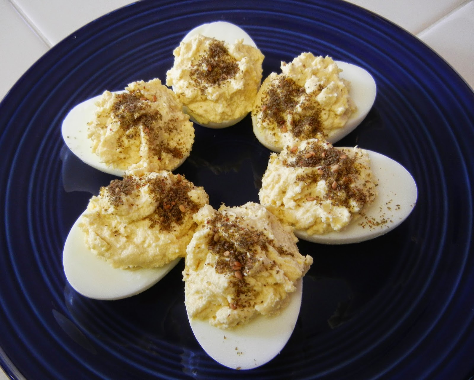 Eggface%2BZaatar%2BHummus%2BDeviled%2BEggs%2BDay Weight Loss Recipes Happy National Deviled Egg Day