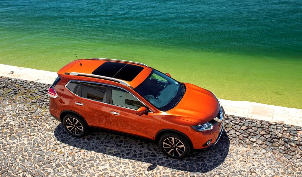 2014 Nissan X-Trail Top View