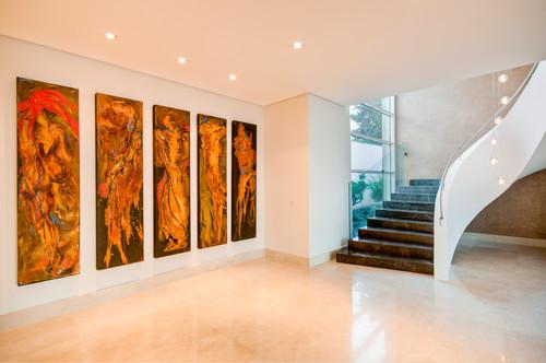 Decoration design photo escalier design - Peinture speciale escalier ...