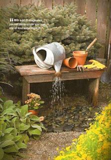 น้ำพุแต่งบ้าน